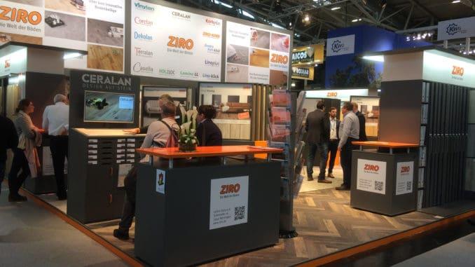 Insgesamt 123 neue Böden präsentierte Ziro auf der Messe Bau in München.