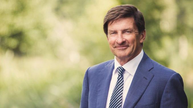 Sieht eine wachsende strategische Rolle der Wälder: Lars Idermark, Präsident und CEO bei Södra.