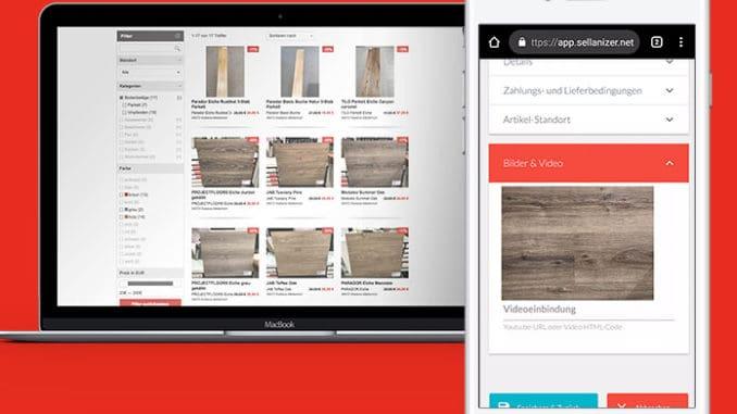 Neues Abverkaufstool für Restposten und Lagerware im Holzfachhandel vorgestellt. [Bild: Trendview]