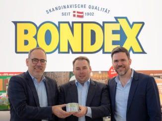 Im Bild v l.: Joachim Ruf (Business Development Manager), Björn Hoffmann (Sales Director Retail) und Kolja Eikelmann (Head of Marketing AC DACH).
