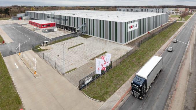 Das neue Häfele Versandzentrum in Lehrte bei Hannover wird im Frühsommer seinen Betrieb aufnehmen.