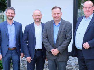 Der wiedergewählte Vorstand des vdp (v.l.): Dr. Peter Hamberger, Volker Kettler, Michael Schmid und Bernhard ter Hürne. Foto: vdp