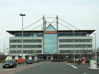 Baumarktverwaltungsfunktionen in Bornheim zusammen (Foto: Wikimedia).