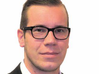 Luca Freiburghaus, Verkaufsberater für Enia im Außendienst Region Westschweiz.