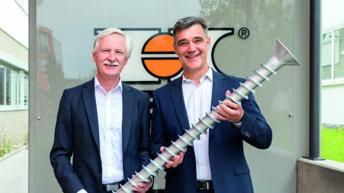 Ex-Heco-Geschäftsführer Guido Hettich (l.) neben seinem Nachfolger Achim Carstanjen. [Bild: Heco]