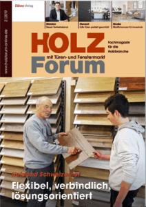 Holzforum Ausgabe 2/2019